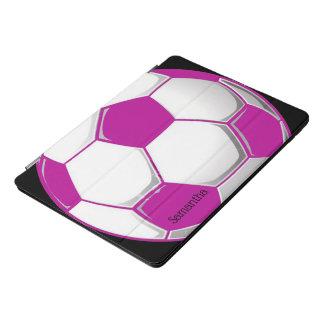 Pink Soccer Ball Design iPad Pro Case