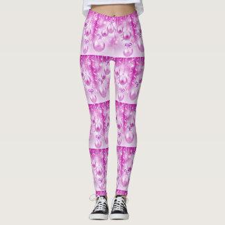 Pink Sparkle Leggings