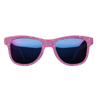 Pink Sparkles Glittery Bling Sunglasses