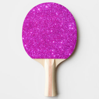 Pink Sparkly Glitter Girly Ping Pong Paddle 2