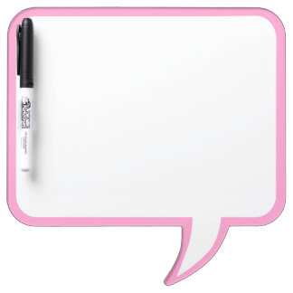 Pink Speech Bubble Wall Decor Customize This Dry Erase Board