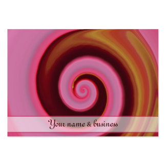 pink spin pack of chubby business cards