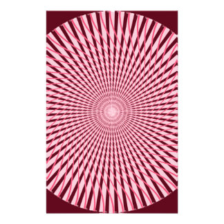 Pink Spiral Stationery Paper