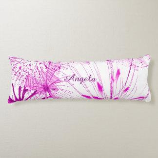 Pink Splash Body Pillow