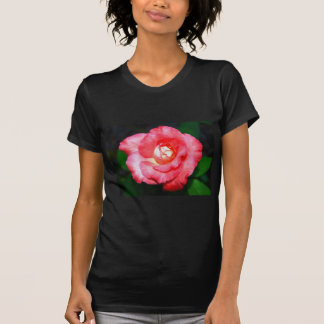 Pink splendor Ladies Dark Basic T-Shirt Template