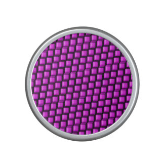 Pink Squares Bumpster Speaker