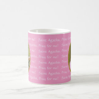 Pink St. Agatha (M 003) 11 oz. Coffee Mug #2