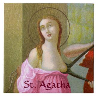 Pink St. Agatha (M 003) Ceramic Tile