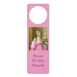 Pink St. Agatha (M 003) Door Hanger #2