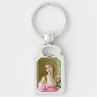Pink St. Agatha (M 003) Key Ring