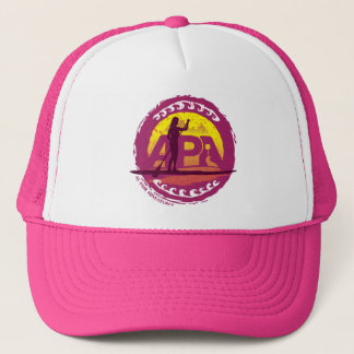 Pink Stamp Hat