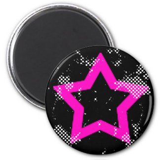 pink-star magnet