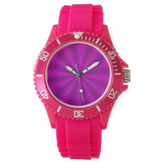 Pink Starburst Watch