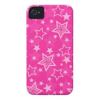Pink Stars BlackBerry Bold Case