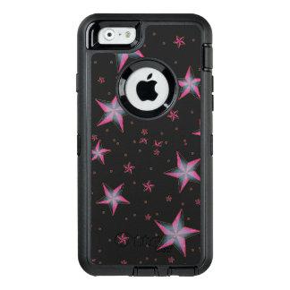 Pink Stars Otterbox Defender Case