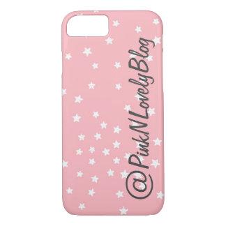 Pink Stars Social Media iPhone 7 Case