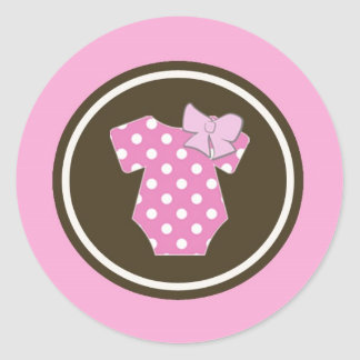 Pink Stickers - Perfect for gender reveals