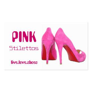 Pink Stilettos Business Card