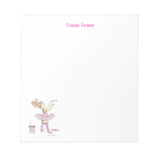 Pink Story note pad