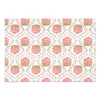 Pink Strawberry Champagne Cupcakes Invitation