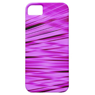 Pink streaked lines pattern barely there iPhone 5 case
