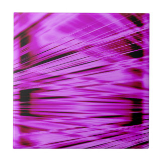 Pink streaked lines pattern tile