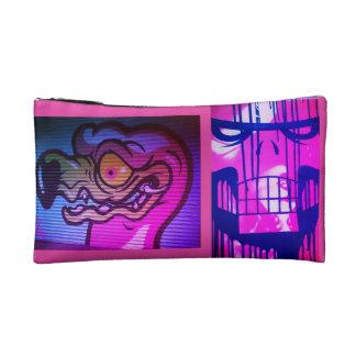 PINK Street Art Cosmetics Bag