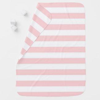 Pink Stripe Buggy Blanket