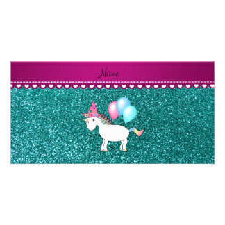 pink stripe dashes hearts.png personalized photo card