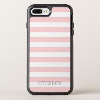 Pink Stripe OtterBox Symmetry iPhone 8 Plus/7 Plus Case