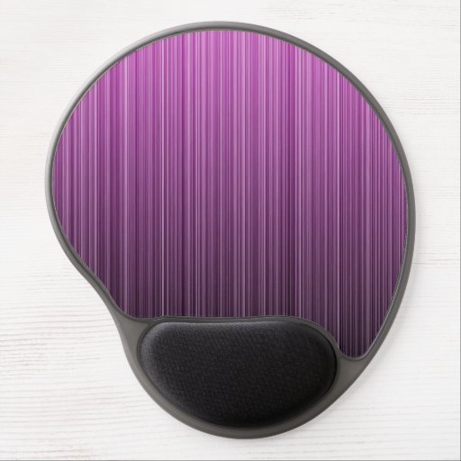 Pink Striped Gel Mouse Mat