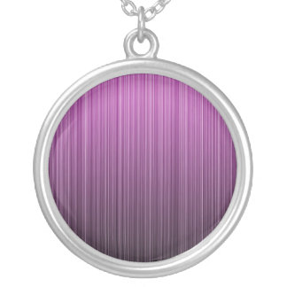 Pink Striped Necklaces