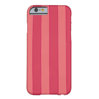 Pink Stripes Barely There iPhone 6 Case