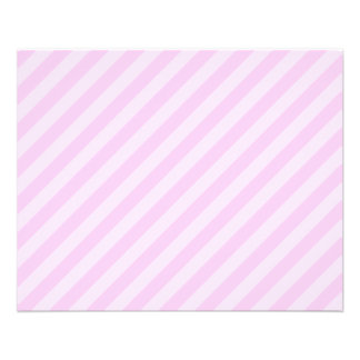 Pink Stripes. Flyer Design