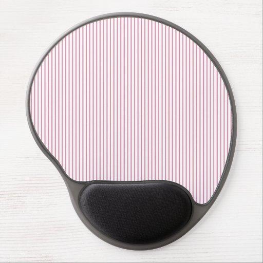 Pink Stripes Gel Mouse Mat