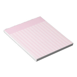 Pink Stripes Notepads