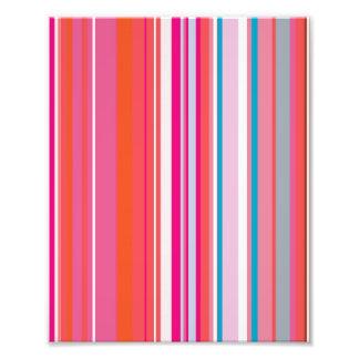 Pink Stripes Pattern Photo