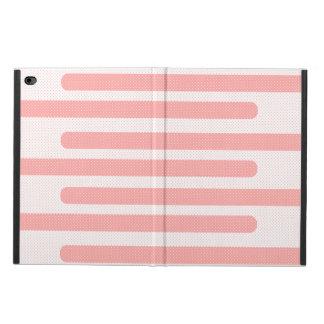 Pink Stripes Pattern Powis iPad Air 2 Case