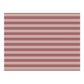 Pink Stripes Postcard