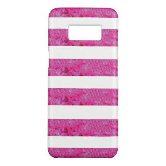 Pink Stripes Samsung Galaxy S8 Case