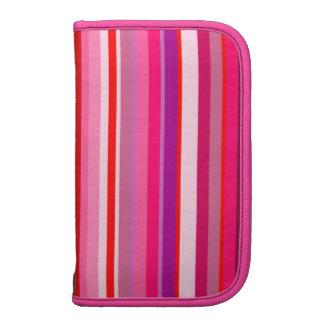 Pink Stripes Smartphone Folio Planner