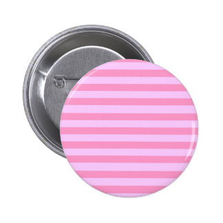 Pink Stripes Standard, 2¼ Inch Round Button