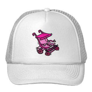 Pink Stroller Cap