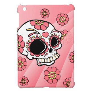 Pink Sugar Skull1 Cover For The iPad Mini