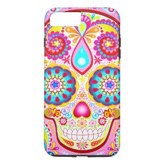 Pink Sugar Skull iPhone 7 Plus Tough Case