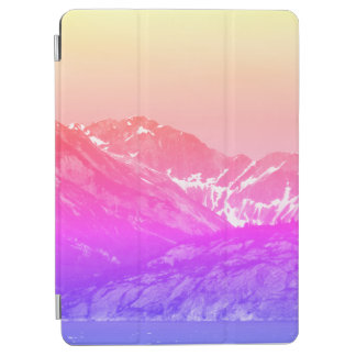 Pink Summer Mountains Ipad Cover