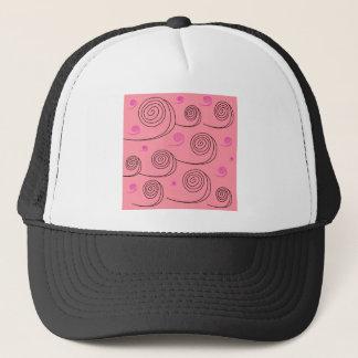 Pink summer spirals Art Collection 2017 Trucker Hat