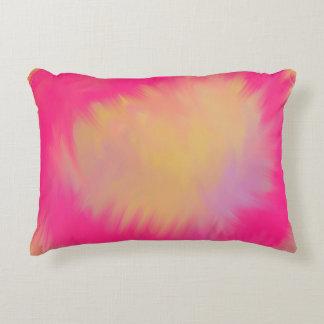 Pink Summer Splash Accent Cushion
