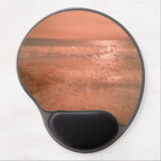 Pink Sunrise Gel Mouse Pad