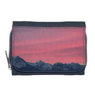 Pink sunrise wallets